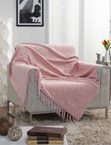 Manta Para Sofá Italiana Rosa - Fastlar