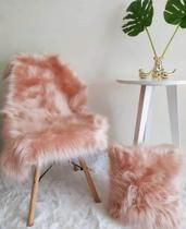 Manta para sofá ou Peseira de pelo - Roupa Pra Casa