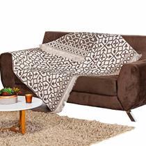 Manta para Sofa Retratil Ornare Premium Oferta Envio 24h Tabaco - Charme do Detalhe