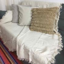 Manta sofa soft 140x170 Cru - Comercial Textil