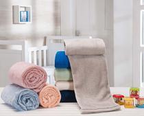Manta Soft De Bebê Infantil Cobertor Anti-alérgica Antiácaro Sortidas - Chique Casa Decor