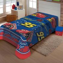 Manta Soft Solteiro Infantil Carros 95 - Jolitex -