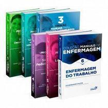 Manuais De Enfermagem Concursos E Resid. Vols 1 2 3 4 5 E 6 - Sanar