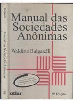 Manual das Sociedades Anônimas - None