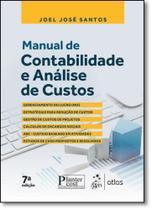 Manual de Contabilidade e Análise de Custos - Atlas