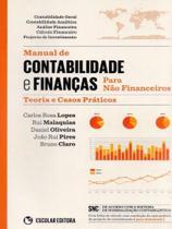 Manual de Contabilidade e Finanças Para Não Financeiros. Teoria e Casos Práticos - Escolar