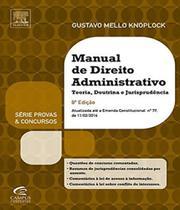Manual De Direito Administrativo - 08 Ed - Campus - concursos