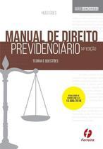Manual De Direito Previdenciário - Teoria E Questões - Ferreira