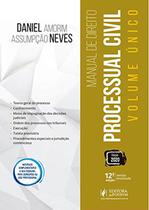 Manual de Direito Processual Civil - Volume Único - 12ª Edição (2020) - Juspodivm -
