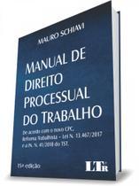 Manual de Direito Processual do Trabalho - Ltr