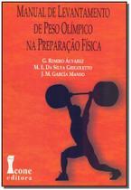 Manual de Levantamento de Peso Olímpico na Preparação Física - Icone -