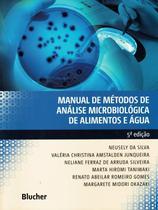 MANUAL DE METODOS DE ANALISE MICROBIOLOGICA DE ALIMENTOS E AGUA - 5ª ED - Edgard Blucher