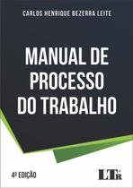 Manual de processo do trabalho - Ltr Editora