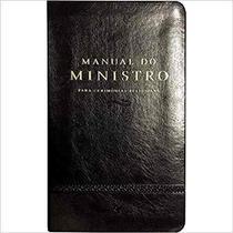 Manual do Ministro - Para Cerimônias Religiosas - Preto - Vida -
