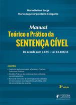 Manual Teórico e Prático da Sentença Cível - 3ª Edição (2019) - Juspodivm