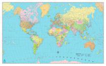 Mapa mundi politico dobrado - Geomapas Editora De Mapas E Guias Ltda