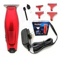 Maquina Acabamento Cabelo Barba S/fio Bivolt 5w Kemei - 5026 -