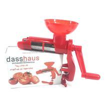 Máquina Compacta De Fazer Molho De Tomate Vermelha Dasshaus -