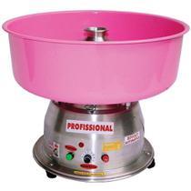 Máquina de Algodão Doce Clean Bivolt Profissional Ademaq Rosa -