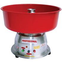 Máquina de Algodão Doce Clean Bivolt Profissional Ademaq Vermelho -