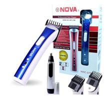 Maquina de Barbear faz pezinho e aparador de pelos Nariz Orelhas Kit Bivolt - Ecooda E Nova