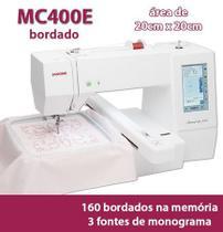 Máquina De Bordar Computadorizada, Área De Bordado De 20cm X 20cm, 160 Bordados Na Memória - Janome