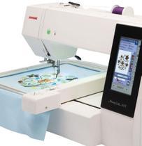 Máquina de Bordar Eletrônica - Janome MC500E com 160 Bordados -