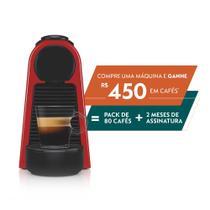 Máquina de Café Essenza Mini D30 127V Nespresso Vermelha -