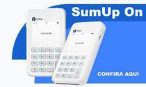Máquina de Cartão Sumup On Com Chip - Faz vendas por aproximação -