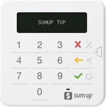 Máquina de Cartão SumUp Top Sem Aluguel - Bluetooth -