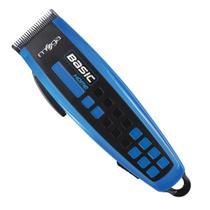 Máquina De Cortar Cabelo Basic Home 110v Azul Mega -