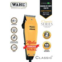 Máquina de cortar cabelo Classic 127V - Wahl