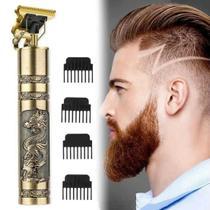 Máquina de cortar cabelo elétrica Barbeiro Máquina de cortar cabelo para casa Conjunto de aparador de cabelo para salão - ConnectCell