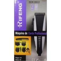Máquina de cortar cabelo Profissional Rifeng 9 Peças Voltagem 127v 13W -