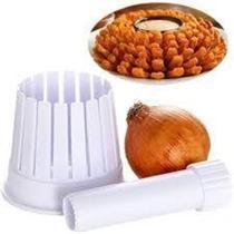 Maquina de cortar cebolas cortador e fatiador vegetais e frutas onion blossom maker - Gimp -