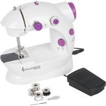 Máquina de Costura 1 Ponto SteamMax MaxHome Compacta SM-500 Bivolt -
