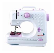 Máquina De Costura 12 Pontos Iwmc-505c C Kit Agulha Bivolt - Importway