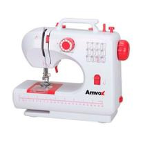 Máquina de Costura Doméstica 12 Pontos Amvox Amq 012 Bivolt -
