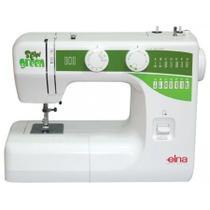 Máquina de Costura Doméstica, 15 Pontos, 750ppm, Braço Livre, Patchwork, SEW GREEN - Elna