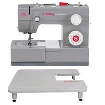 Máquina de Costura Doméstica Singer Facilita Pro 4423 110V  + Mesa Extensora Singer Linha Facilita Pro Mecânica -