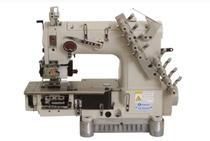 Maquina de costura elastiqueira 4 agulhas com catraca sansei sa-04085p - bivolt -