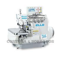 Maquina de Costura Eletronica 2 Agulhas ponto Cadeia Ello Modelo EL-8000BDI-4-M2-24/UT -