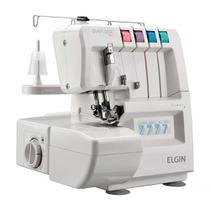 Máquina de Costura Elgin Overlock 1000 Eletrônica 110v -