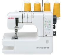Máquina de Costura Galoneira Doméstica, 3 Agulhas, 4 Linhas, 1000ppm, 65W, 1000CPX - Janome
