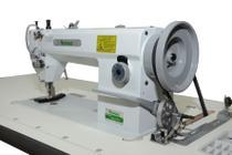 Maquina de costura industrial reta transporte triplo lançadeira grande sewmac  sew-0818 -