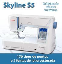 Máquina de Costura Janome Skyline S5 -