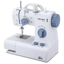 Máquina de Costura Lenoxx Compacta PSM105 Modelo Eletrônico com Lâmpada Auxiliar Bivolt -