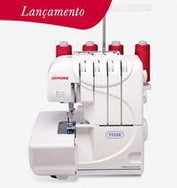 Máquina de Costura Mecânica Overlock Ultralock Janome 7933D 110V -