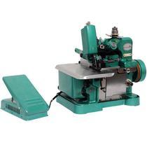 Máquina de Costura Overlock Overloque Semi Industrial Portátil Importway IWMC-506 Verde -