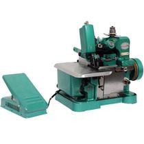 Máquina de Costura Overlock Overloque Semi Industrial Portátil Importway IWMC-5061 Verde 110V 127V -